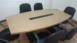 Mesa de reunião Mobitec ( sem as cadeiras )