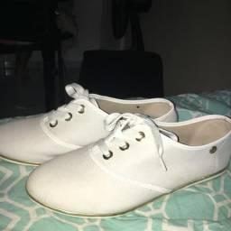 Sapato Moleca branco