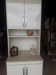 Armário d cozinha em mdf tampo d formica semi novo