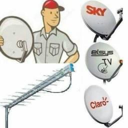 Técnico da SKY,CLARO OI instalação e manutenção