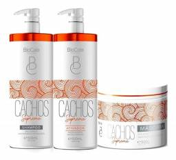 Kit Cachos Perfeitos, Cachos Supreme Shampoo + Ativador 500g + Máscara 500 ml