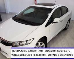 Honda Civic 2.0 Exr Flex Aut. 4p completo