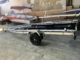 Carreta para barcos 17 pés