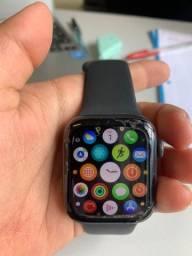 Apple Watch Series 4 44mm com 03 pulseiras