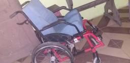 Cadeira rodas confortável
