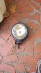 Farol Mini medio milha só tem 1 para adaptar ou luz