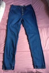 Calça jeans cigarrete