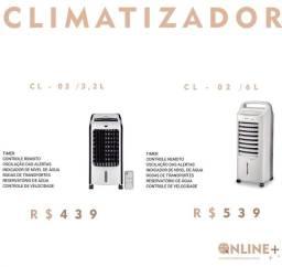 Climatizador em promoção(frete grátis)