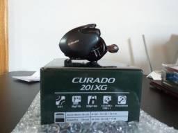 Carretilha Shimano Curado 201XG - Manivela Esquerda (novo e pagamento à vista)