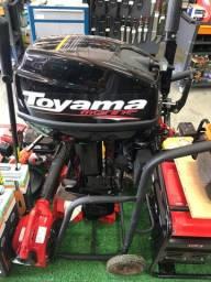 Motor De Popa Bicilíndrico Toyama TM15TS 15HP 246cc 2 Tempos