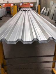Título do anúncio: Telha Galvalume - Zinco mais aluminio - Galvanizada - zap telhas 43
