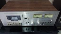 Tape Deck Technics 614 Prata