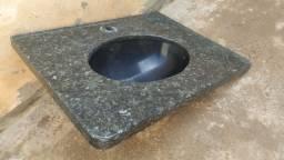 Pia granito verde Ubatuba 55x72