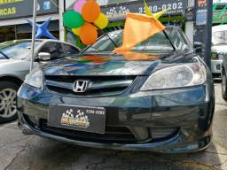 Honda LX 1.7 2006 único dono, Bancos em couro e rodas de liga original de fábrica.
