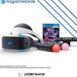 PlayStation VR Launch Bundle Worlds ZVR2 - Óculos Realidade Virtual - Sony