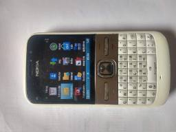 Celular Nokia e5 funcionando perfeitamente bateria boa