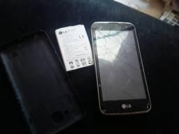 Vendo celular Lg com defeito na tela