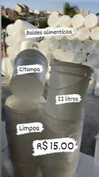 Baldes 22 litros polpa de frutas