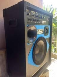 Caixa amplificada LL300 só 400 reais