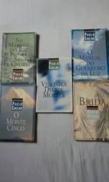 Vendo Coleção de quatro livros de Paulo Coelho (todos conservados veja descrição)