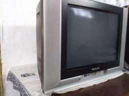 Televisão Panasonic de tubo  tela plana 20 polegadas