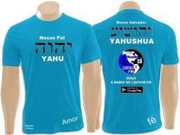Camisas unisex Radio só louvor fm word promoção duas 140.