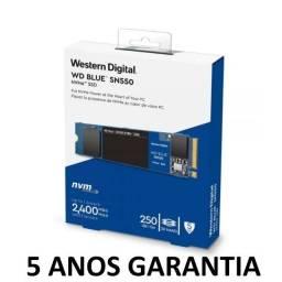 Título do anúncio: 5 Anos de Garantia * SSD M.2 Nvme 250GB *Nota Fiscal *Novo Lacrado
