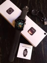 Título do anúncio: Smartwatch com menu comeia coloca foto na tela