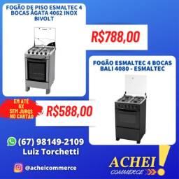 Título do anúncio: Fogões_Diversas Marcas e Modelos_Novo_Garantia_NF