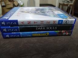 Título do anúncio: Jogos PS4 - Venda