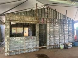 Forma de casas semi novas  Alumínio