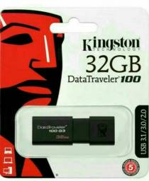 Título do anúncio: PEN DRIVE KINGSTON 32GB  3.0+ GARANTIA