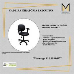 Título do anúncio: Cadeira Executiva Giratória com Rodinhas - Escritório