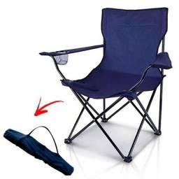 Título do anúncio: Cadeira Dobrável Articulada Acessórios Camping Acampamento Pescaria