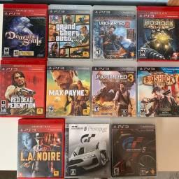 Jogos originais PlayStation 3 (aceito cartão)