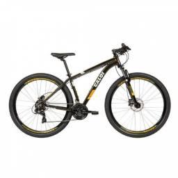 bicicleta aro 29 Caloi extreme cambio shimano freios hidraulicos