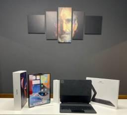 "Título do anúncio: Kit iPad Pro 12,9"" 2021 5ª geração 128GB Wi-Fi + Pencil + Teclado Keyboard Original Apple"