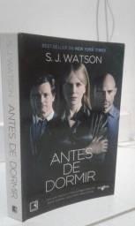Livro - Antes de Dormir - S.J Watson