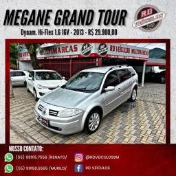 Renault Megane Grand Tour Dynam. Hi-Flex 1.6 16V 2013 Flex