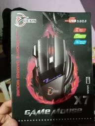 Mouse Game X7 Jiexin 6000 dpi 7 Botões Produto Novo