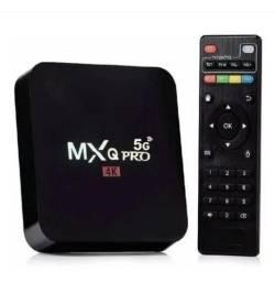Título do anúncio: Tv Box MXQ Pro 4k 5g