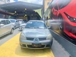 Clio Sedan Privilege Hi-Flex 1.6 2008 Completo