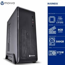 computador intel dualcore j1800 8gb hd 500gb linux 275w slim