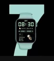 Título do anúncio: Smartwatch IWO 15 Serie 7 À prova d'água. Tela de 1.82