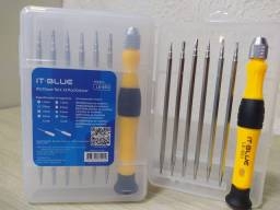*KIT CHAVE TORX 12 Pçs/CELULAR IT-BLUE*<br>