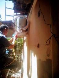 Título do anúncio: Estalação e conserto de ar e geladeira