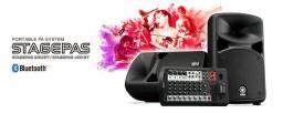 Yamaha Stagepas 600BT Bluetooth Som profissional DJ