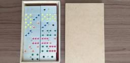 domino colorido de alumino R$ 180,00