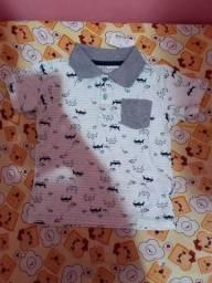 Título do anúncio: Camisa masculina - infantil