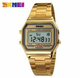 99b48fd0a56 Relógio Feminino Skmei 1123 Original - Dourado - Resistente à Água